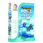 Penguins Pool Party. Gra logiczna